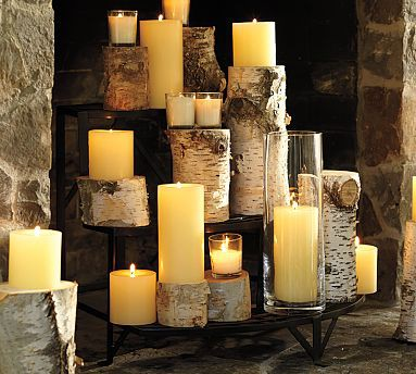 The non working fire place rustic whimsy - Non working fireplace decor ...