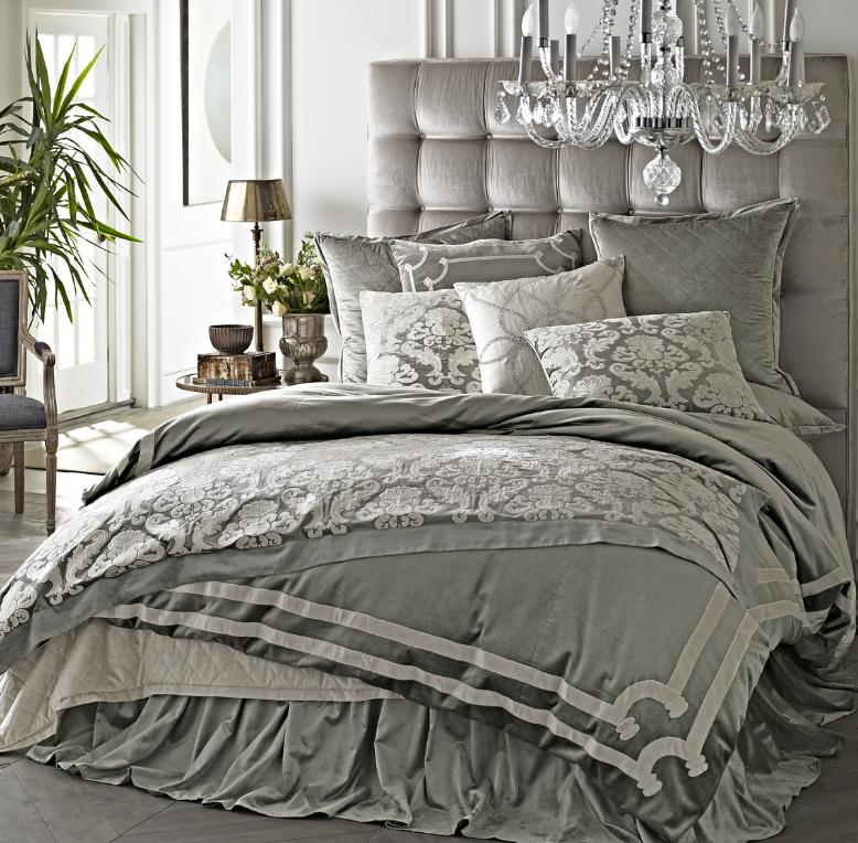 grey sofa with area rug