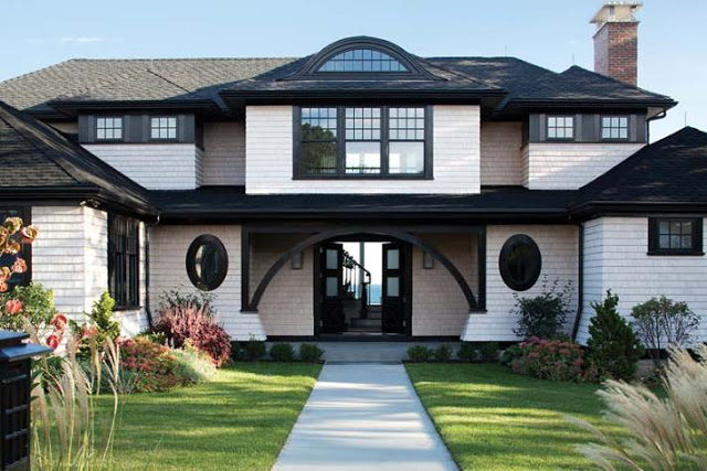 black and white houses – Rustic Whimsy