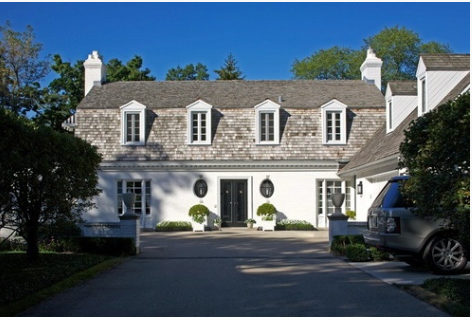David Adler Carriage House in Lake Forest